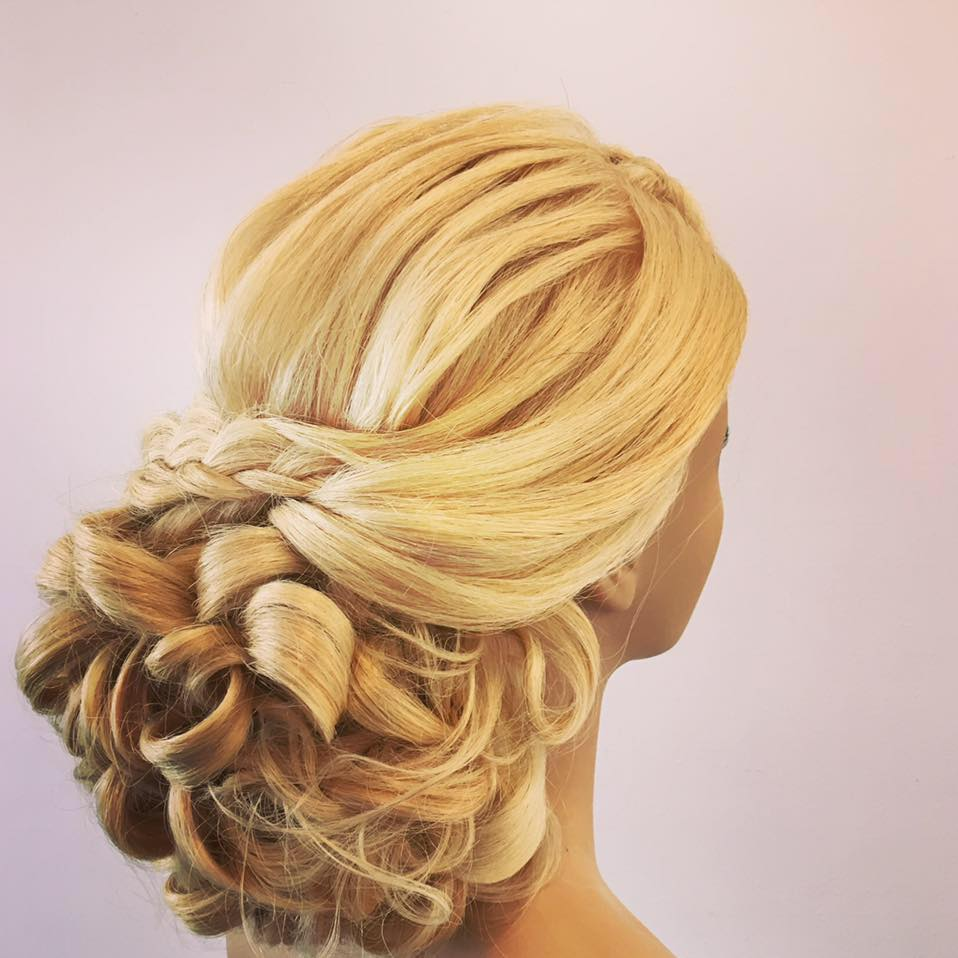 lower updo